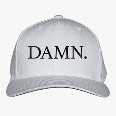 Damn. Kendrick Lamar Embroidered Baseball Cap