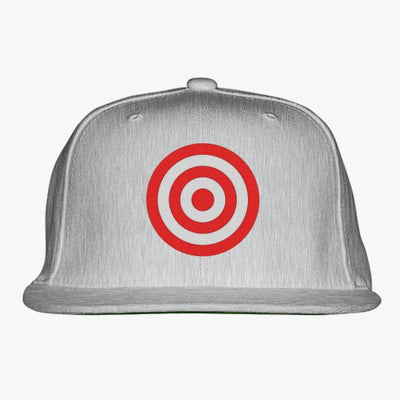Discs Target Embroidered Snapback Hat