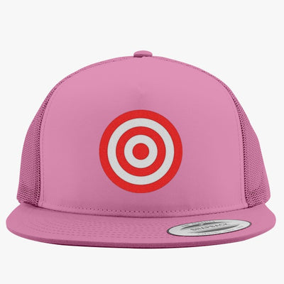 Discs Target Embroidered Trucker Hat