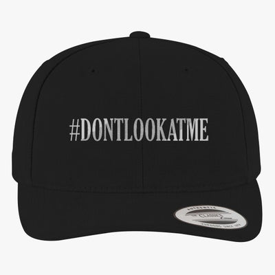 #DONTLOOKATME Brushed Embroidered Cotton Twill Hat