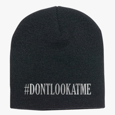 #DONTLOOKATME Knit Beanie