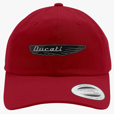 Ducati Embroidered Cotton Twill Hat