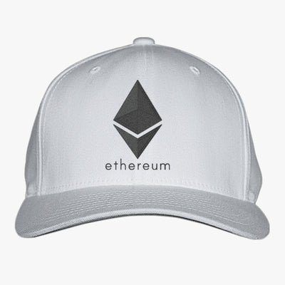 Ethereum Coin Embroidered Baseball Cap