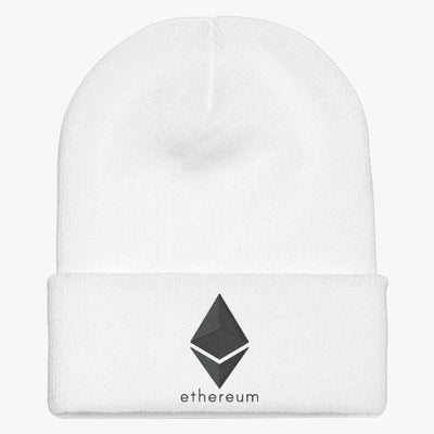 Ethereum Coin Knit Cap