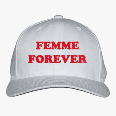 Femme Forever - Feminist Women Merch Embroidered Baseball Cap