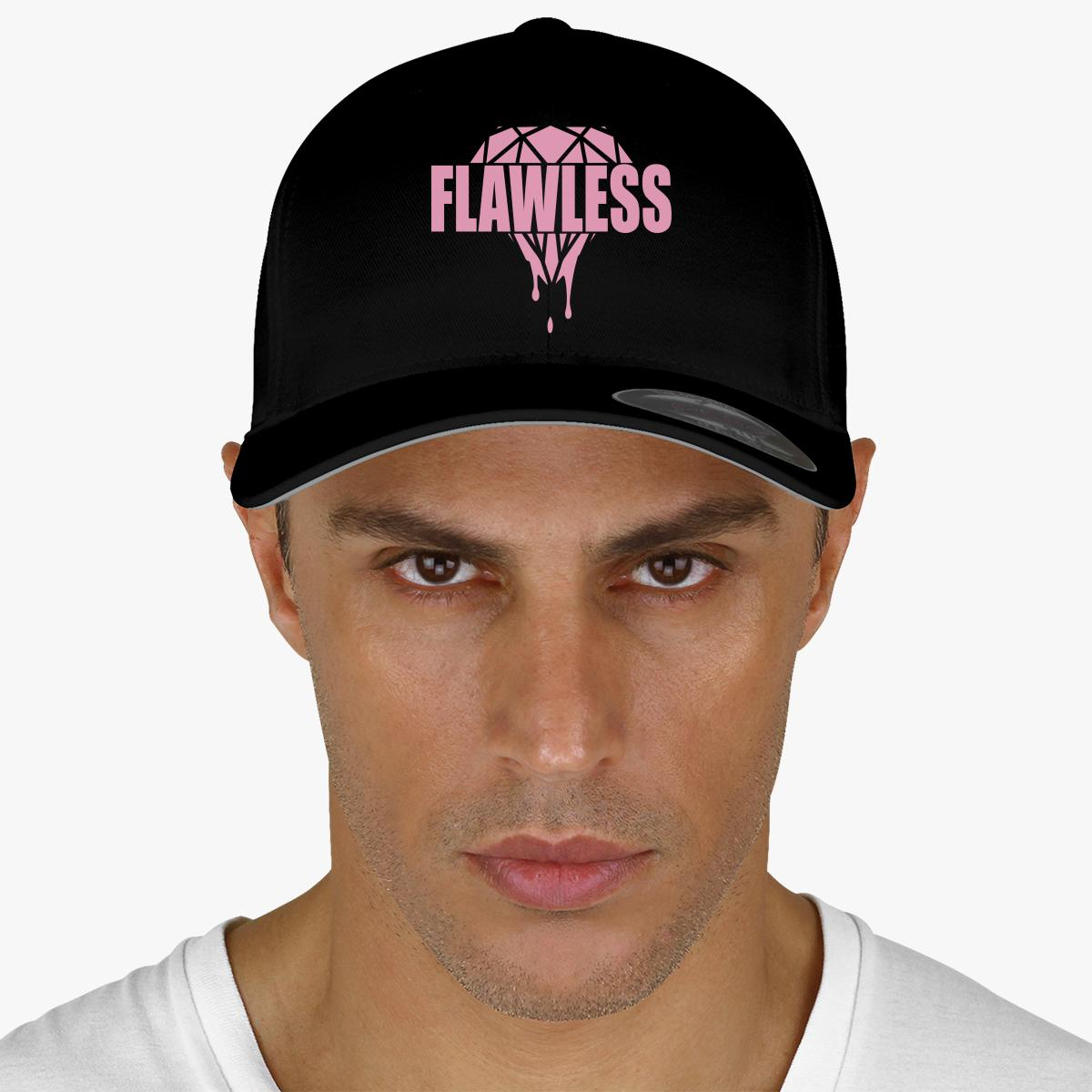 Flawless Diamond Embroidered Baseball Cap