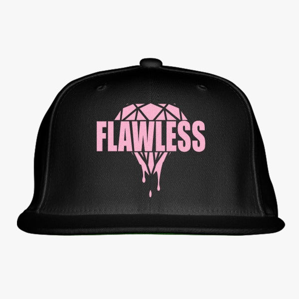 Flawless Diamond Embroidered Snapback Hat