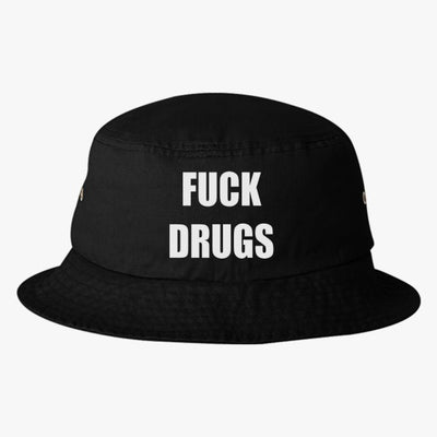 Fuck Drugs Bucket Hat