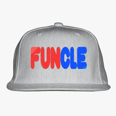 Funcle Embroidered Snapback Hat