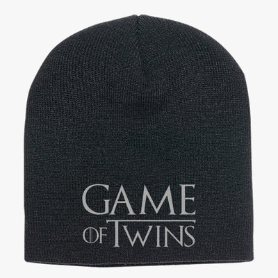 Game Of Twins Knit Beanie