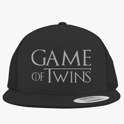 Game Of Twins Embroidered Trucker Hat