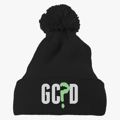 GC?D Embroidered Knit Pom Cap