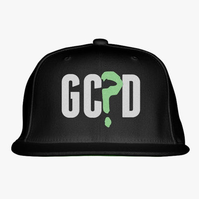 GC?D Embroidered Snapback Hat