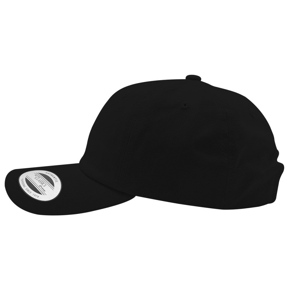 Goth Embroidered Cotton Twill Hat