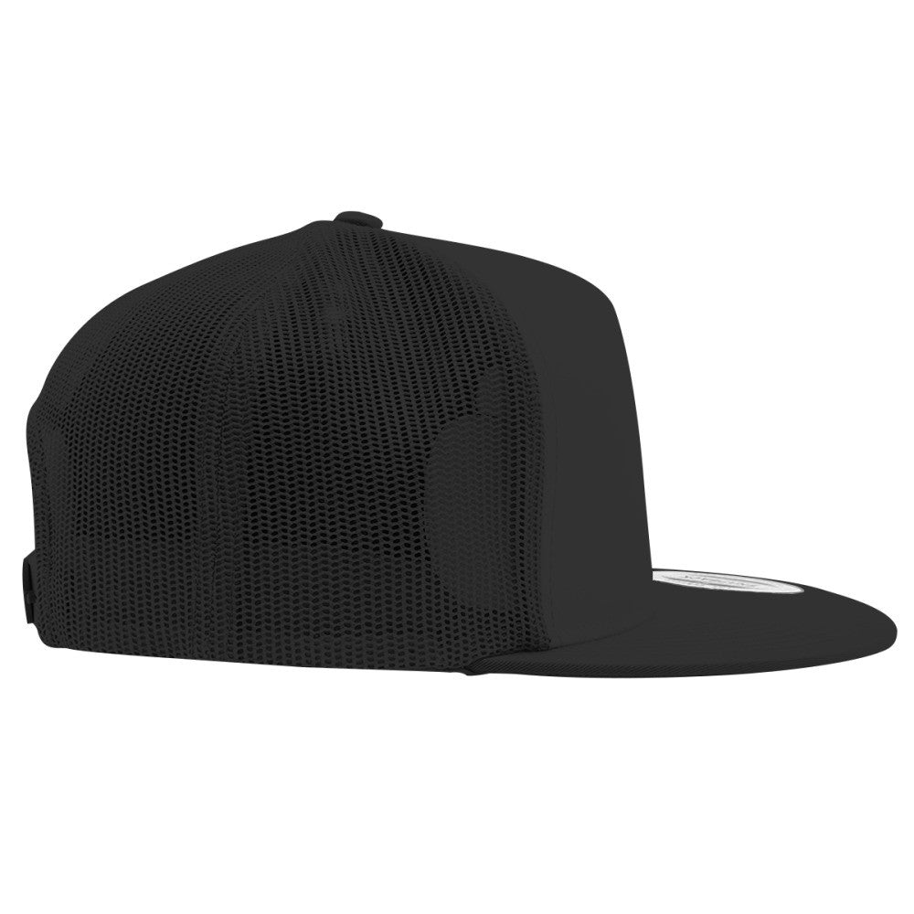 Goth Embroidered Trucker Hat