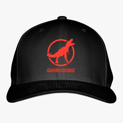 Grandpasaurus - Funny Grandparents  Embroidered Baseball Cap