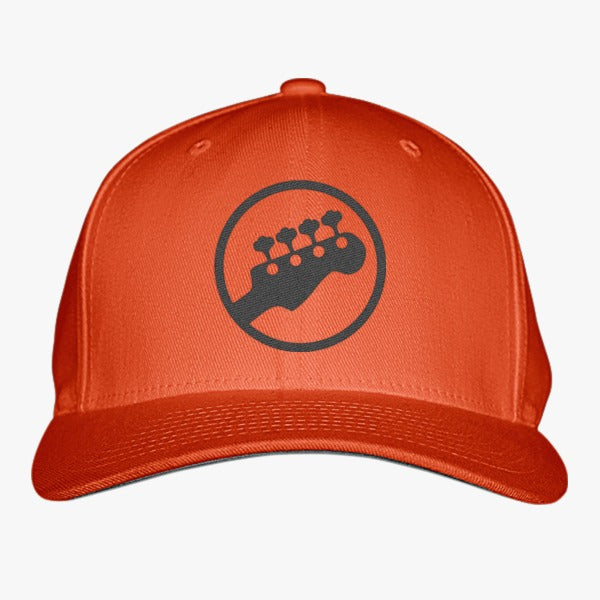 Guitar Embroidered Baseball Cap