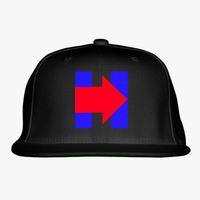 H Pride - Pro Hillary - Anti Trump Embroidered Snapback Hat