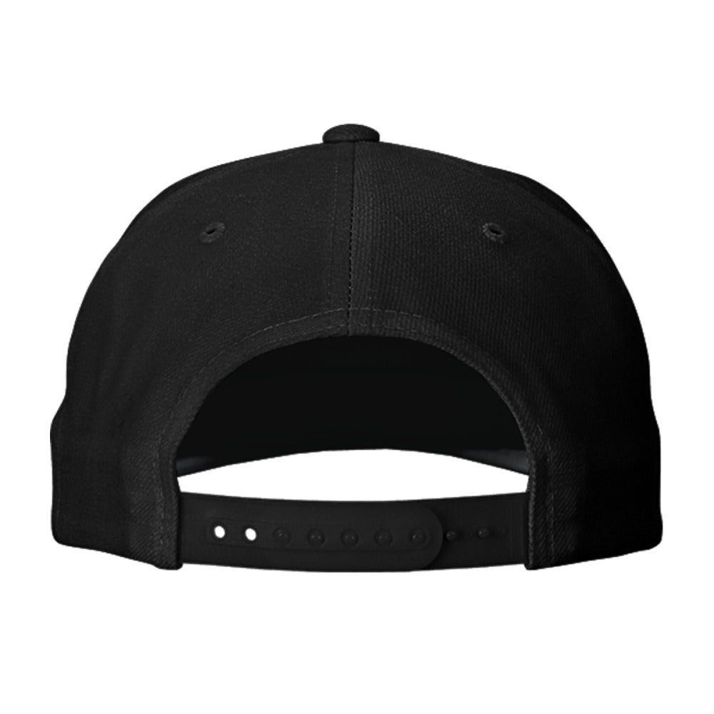 Heart Beat Deer Embroidered Snapback Hat