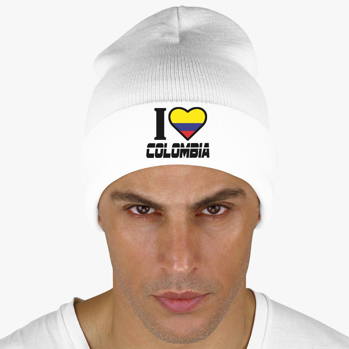 I LOVE COLOMBIA Knit Cap