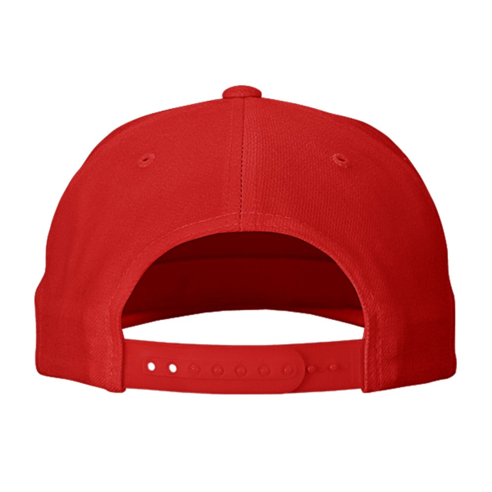 Kisses 25 Cents Embroidered Snapback Hat