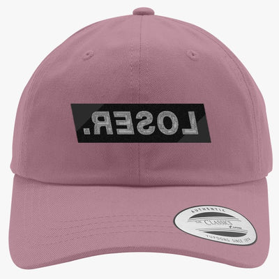 LOSER Embroidered Cotton Twill Hat
