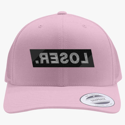 LOSER Embroidered Retro Embroidered Trucker Hat