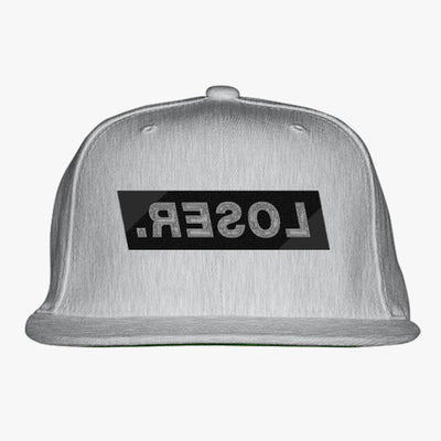 LOSER Embroidered Snapback Hat