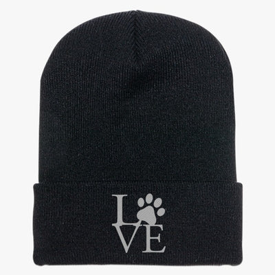 Love Paw Knit Cap
