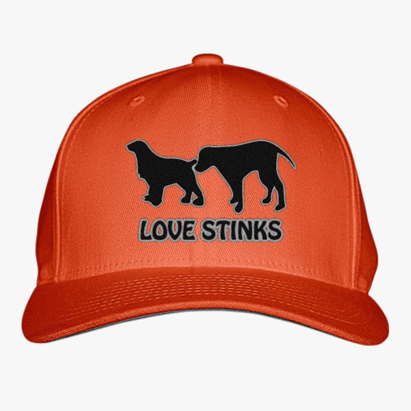 Love Stinks Embroidered Baseball Cap