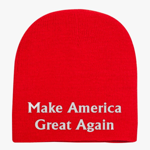 Make America Great Again Knit Beanie