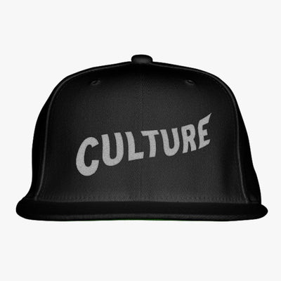 Migos Culture Embroidered Snapback Hat