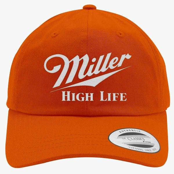 Miller High Life Embroidered Cotton Twill Hat – Hatsline 91b467e5435