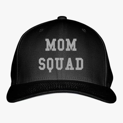 Mom Squad Embroidered Baseball Cap