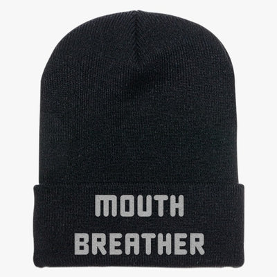 Mouth Breather Knit Cap