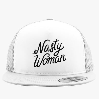 Nasty Woman Embroidered Trucker Hat