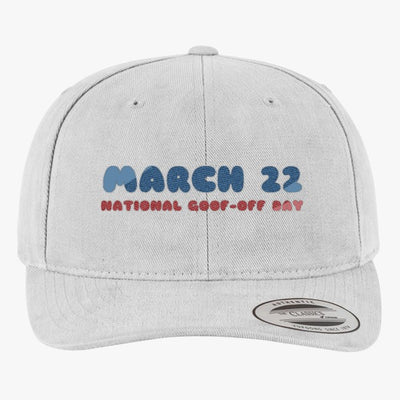 National Goof Off Brushed Embroidered Cotton Twill Hat