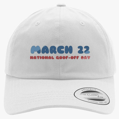 National Goof Off Embroidered Cotton Twill Hat