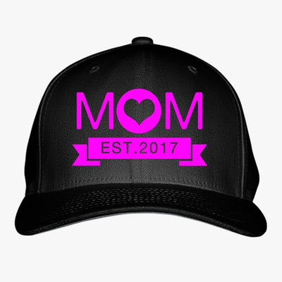 New Mom Embroidered Baseball Cap