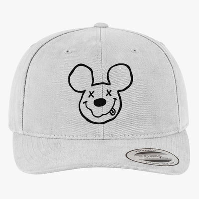 1708a11a01f Nirvana Mickey Brushed Embroidered Cotton Twill Hat