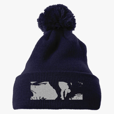 Oh Wonder Title Final Embroidered Knit Pom Cap