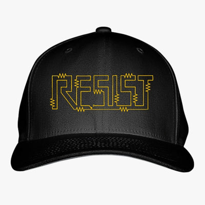 Resist For Science March Embroidered Baseball Cap