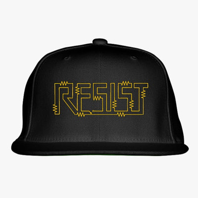 Resist For Science March Embroidered Snapback Hat