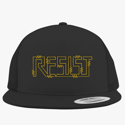 Resist For Science March Embroidered Trucker Hat