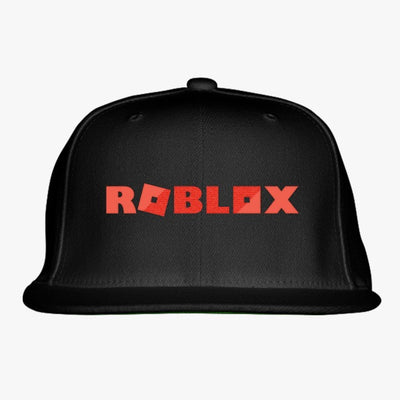 Roblox Embroidered Snapback Hat
