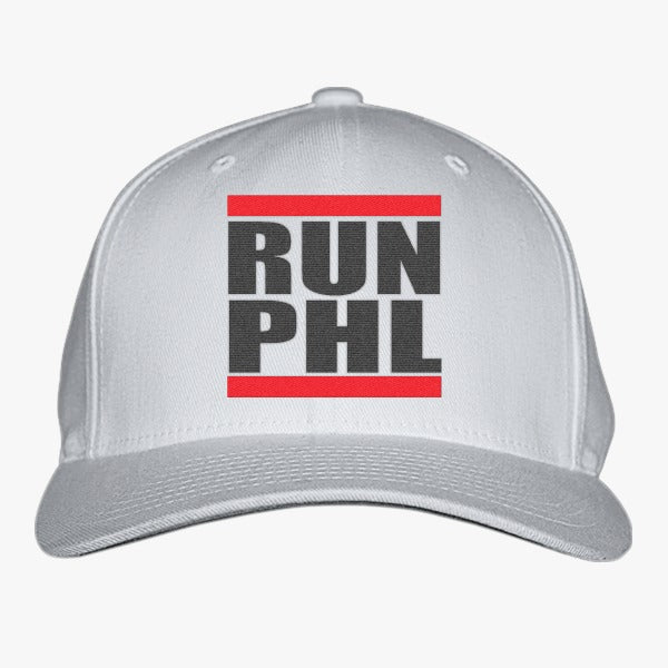 Run Phl Embroidered Baseball Cap