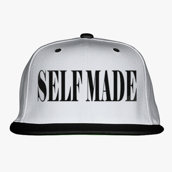 Self Made Embroidered Snapback Hat