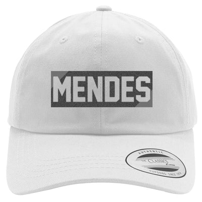 SHAWN MENDES - BLACK Embroidered Cotton Twill Hat