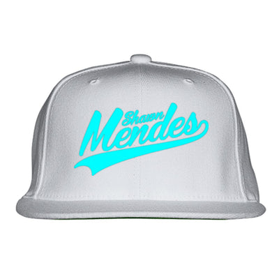 Shawn-mendes---cblue Embroidered Snapback Hat
