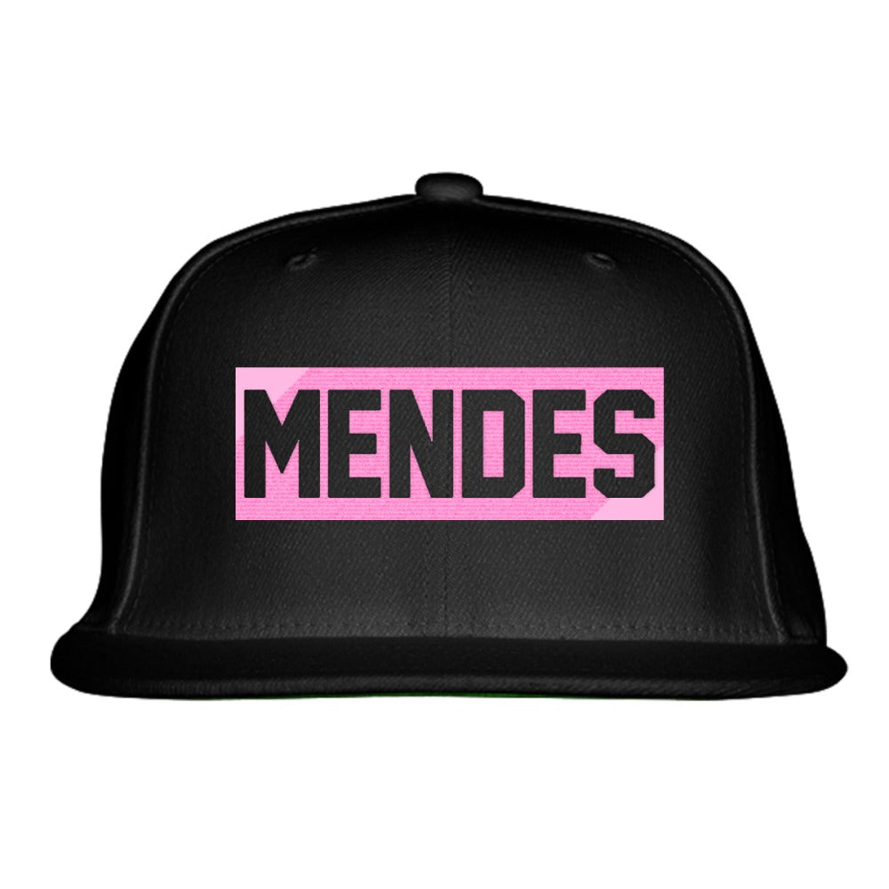 SHAWN MENDES - LIGHT PINK Embroidered Snapback Hat – Hatsline 6f63be04cf37